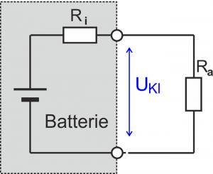 Ersatzschaltbild Batterie